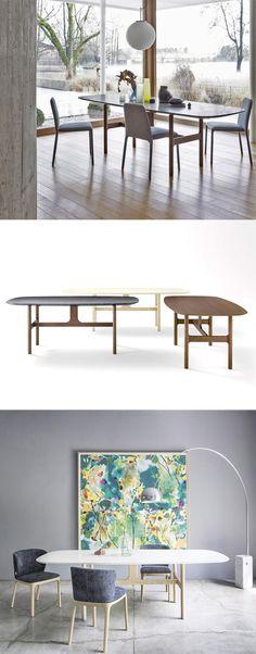 Esstisch Torii überzeugt Durch Sein Modernes Design Und Mit Natürlichen  Materialien. Je Nach Wunsch Ist