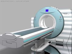 """CT scan machine - which is the """"stretcher moment"""""""