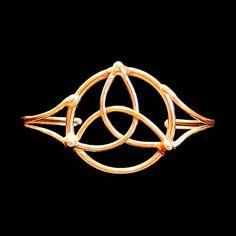 Celtic Knot Bracelet by BronzeSmith on Etsy