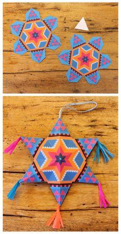 mexican-diy-paper-stars
