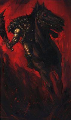 Horseman Berserker by ~vee209