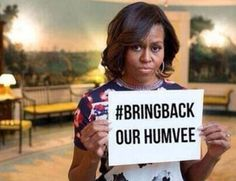 #BRINGBACKOURHUMVEE: ISIS Radicals Mock Michelle Obama, Flaunt Stealing US Humvees