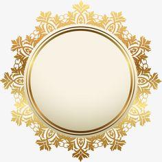 Golden atmosphere badge PNG and Clipart Framed Wallpaper, Flower Background Wallpaper, Flower Backgrounds, Doodle Frames, Frame Floral, Flower Frame, Molduras Vintage, Indian Wedding Invitation Cards, Boarders And Frames