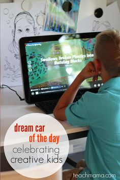 dream car of the day: cool look at the car of the future with Toyota's  Dream Car Art Contest   teachmama.com   #sponsored @ToyotaDreamCar #toyotadreamcar
