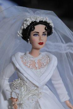 Barbie as Elizabeth Taylor