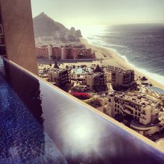 Beautiful view from Villa Bellissima @cabopro in Los Cabos last week end!