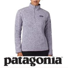Patagonia Purple & Light Gray Better Sweater Patagonia Purple & Light Gray Better Sweater. 1/4 zip. Worn just a few times. Follows Patagonia size chart. Excellent condition, feel free to make an offer. Patagonia Jackets & Coats
