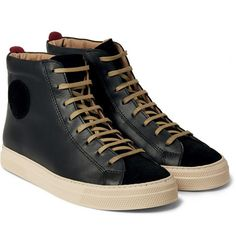 Oliver Spencer - Ambleside Leather High-Top Sneakers
