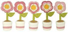 Cómo tejer flores rellenas a crochet (amigurumi stuffed flowers)