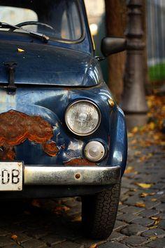 Povero Topolino - Roma Fiat 500 #TuscanyAgriturismoGiratola