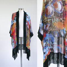 Boho Fringe kimono!!