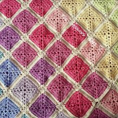 The Patchwork Heart: The Batik Rainbow Blanket