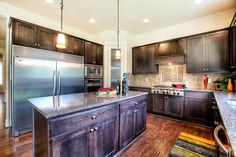 Huge kitchen in our Camano floor plan.