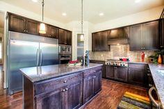 Huge kitchen in our Camano floor plan.