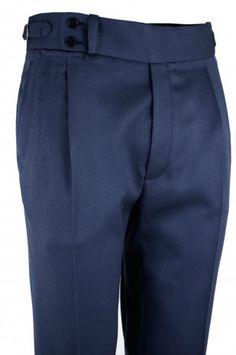 Pantalón P3 2P TA 8960 - Azul Grisáceo #pantalones #casual #hombre #trousers #men #gentleman #style #lopezaragon #spain #menswear #menstyle #handmade #wool #estiloespañol #bespoke #fattoamano #menwithclass #fashion #dapper