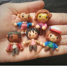 Polymerclay & airdryclay. by @preenswagmode • • • #strangerthings #netflix #fanart