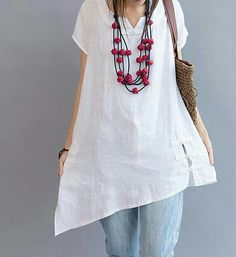 White // beads // wooden jewelry // beaded jewelry // women's fashion