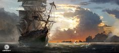 I had the great pleasure to work on Assassin's Creed IV: Black Flag with the talented Raphael Lacoste and Martin Deschambault. Here are a se...