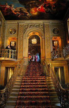 Chatsworth House,Christmas, England. You had me at Christmas and England.