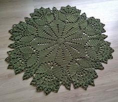 Crochet Flower Hat, Crochet Dollies, Crochet Flower Patterns, Crochet Designs, Crochet Basics, Crochet Stitches, Knit Crochet, Tapete Floral, Beginning Crochet
