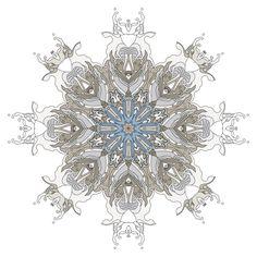 196 - Kaleidoscope Waves by Joshua Davis, via Behance