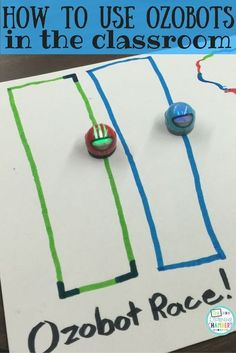 Learn how you can incorporate ozobots into your classroom with this fun and easy STEM challenge.: