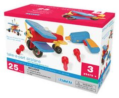 Looking for a great gift idea? Find out how to get this fun Battat Take-A-Part Airplane for only $19.51 (Reg. $27.99)!   Click the link below to get all of the details ► http://www.thecouponingcouple.com/battat-take-a-part-airplane-only-19-51-reg-27-99/