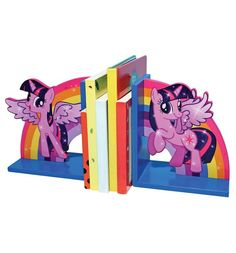 Official My Little Pony Twilight Sparkle Wooden Bookends - Cute Boxed Gift for sale online My Little Pony Bedroom, New My Little Pony, My Little Pony Twilight, Little Girl Rooms, Little Girls, Happy Kids, Happy Baby, Wooden Bookends, Little Poney