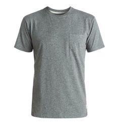 DC Shoes Mens Basic DC Pocket TShirt, Men's, Size: Medium, Black