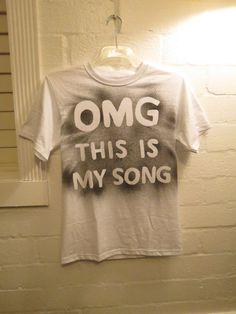 Luke Bryan Inspired Play It Again OMG This Is My Song tee