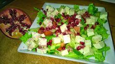 Tupun tupa: Feta-granaattiomena-salaatti