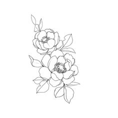 15 New ideas for drawing simple flowers ink Trendy Tattoos, New Tattoos, Small Tattoos, Cool Tattoos, Drawing Tattoos, Tatoos, Drawing Quotes, Tattoo Sketches, Tattoo Art