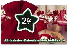 Adventskalender selber machen – Adventman All Inclusive, Advent Calendar Gifts