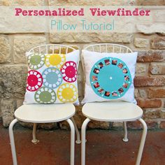 How To Make a Pillow With a Personalized Viewfinder