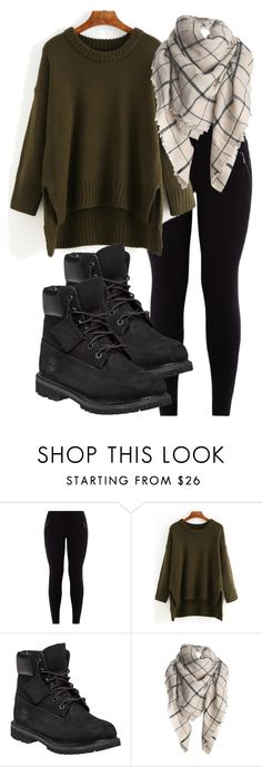 A walk in the woods by echojkolle on Polyvore featuring Timberland
