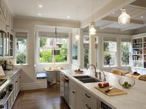 Kitchen of the Week: Storage, Style and Efficiency in San Francisco   Calacatta marble island counter, custom cabinetry