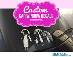 How To Make Car Decals With A Cricut Expression Window Decals - How to make car decals with cricut expression