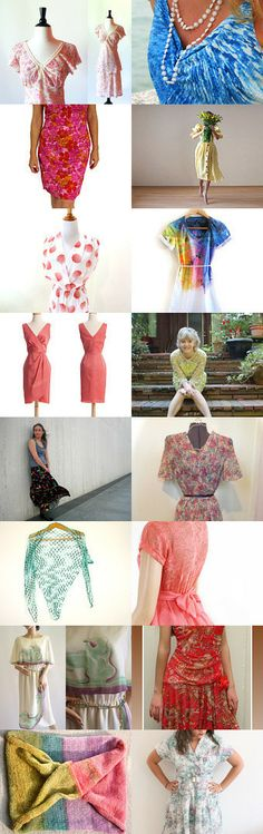 Spring Fashion by Diane Waters on Etsy--Pinned with TreasuryPin.com