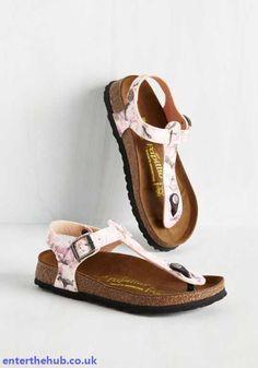 Vogue Retro Patterns Womens Slingback Has Slung Sandal Shoes