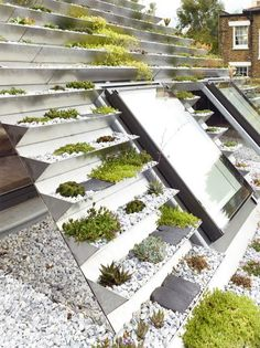 """Hayhurst and Co creates """"hanging-basket roof"""" for designers' home and studio"""