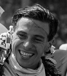 """Jim Clark was an exceptionnal and true gifted racing driver!"" (Juan Manuel Fangio). (ph: © Friedman)"