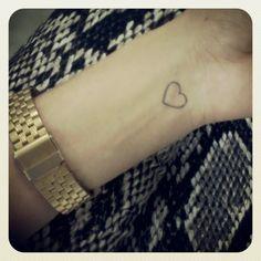 tattoo heart wrist