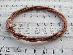 piano string bracelet