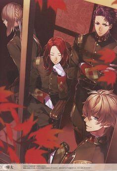 Saber (Gwain & Lancelot & Bedivere) & Archer (Tristan) - Fate/Grand Order - Jardines de Ávalon