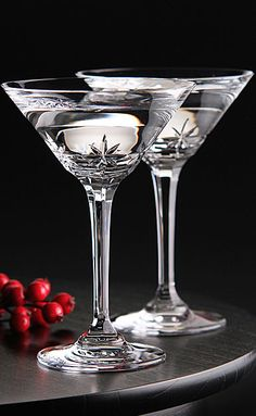 Marquis by Waterford Starcut Martini Pair