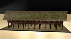 Animasi Rumah Aceh 3D