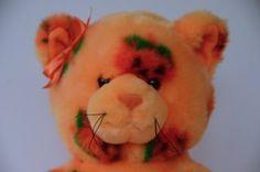 Build a Bear Halloween Pumpkin Pattern Kitty Cat