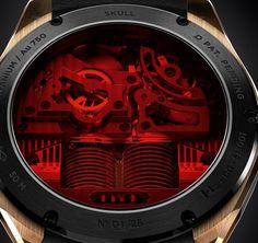 Ghost Rider Would Love This HYT Skull Watch -  #dc #futuristic #GhostRider #ironman #marvel #punisher #skull #smartwatches