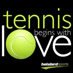 Tennis begins with Love #tennis