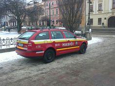 Skoda Octavia Fire car